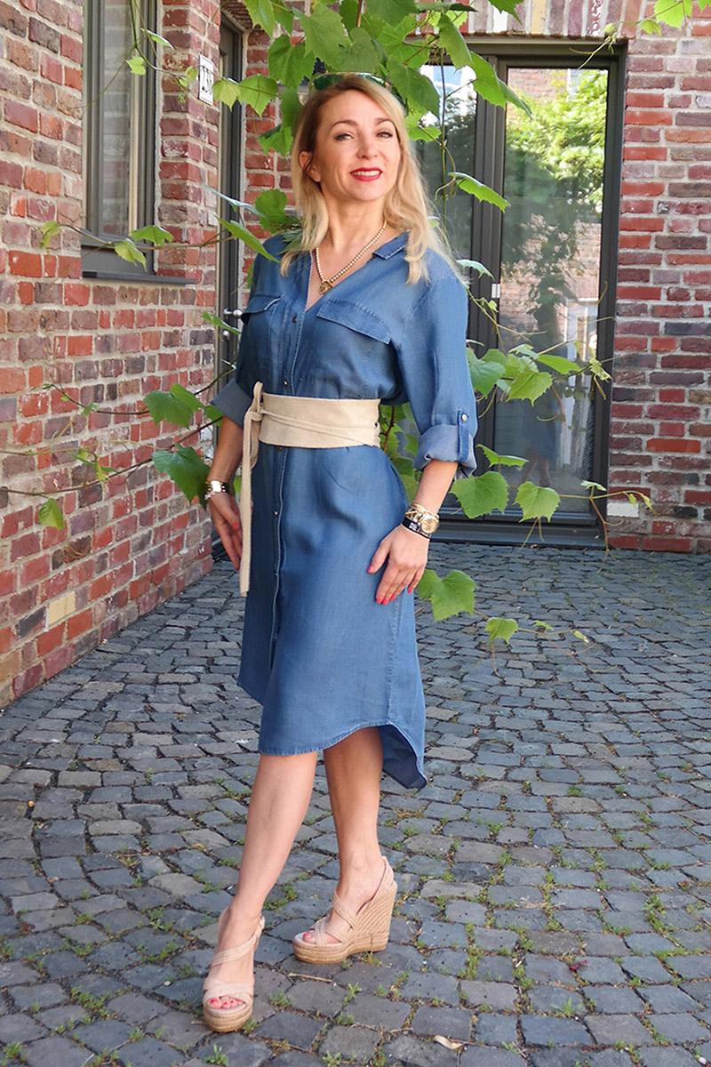 Trend-Klassiker: Jeans-Kleid und Co